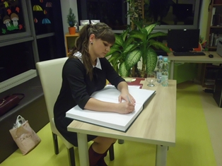 Spotkanie autorskie z Anną Humięcką
