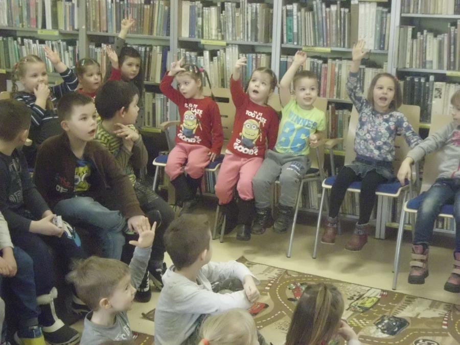 Przedszkolaki z wizytą w bibliotece, czyli czym skorupka za młodu nasiąknie...