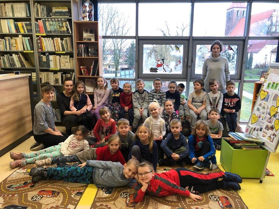 Spotkanie z książką w bibliotece