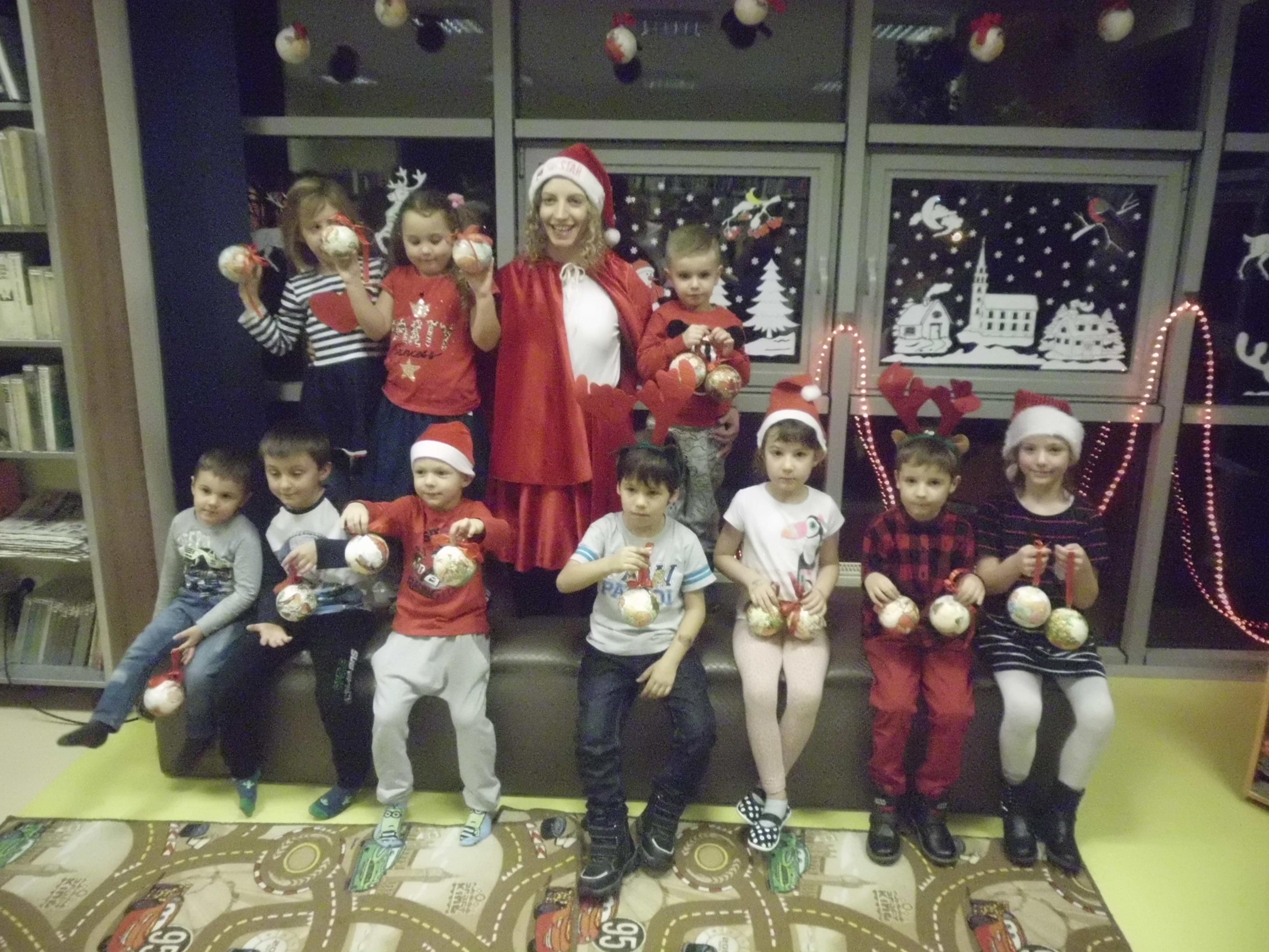 Święta w Klubie Małego Czytelnika